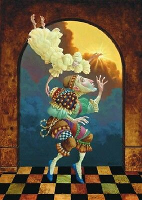 James Christensen AFTER CLOUDS SUN art print, HAND SIGNED by the artist