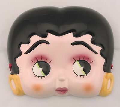Vandor Betty Boop Ceramic Wall Hanging Face Licensed 111175 New