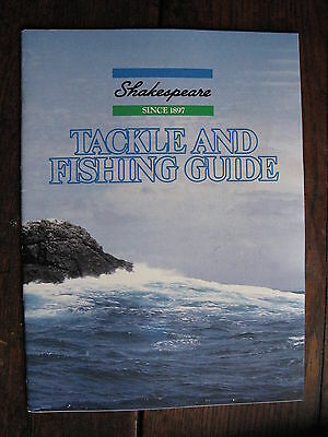 Shakespeare Tackle & Fishing Guide