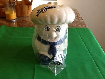 Entenmanns Baker Promotional Cookie Jar 1st Collector Series  1992 New