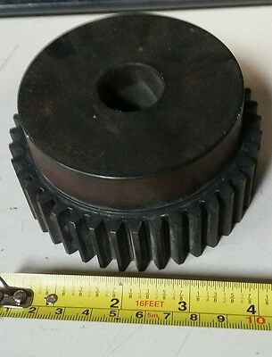 Martin TS1040 2 Spur Gear, 20° Pressure Angle, High Carbon Steel, 10 Pitch