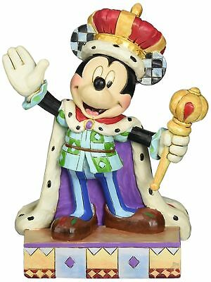Jim Shore for Enesco Disney Traditions Mickey King for a Day Figurine 6.5""