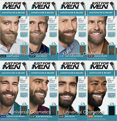 Just For Men Colour Dye Gel Moustache and Beard-GENUINE/FREE DELIVERY