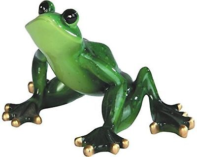 StealStreet Green Frog Jump Position Figurine