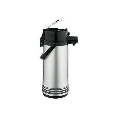 Update International (NLD-19-BK/SF) 1.9 L Stainless Steel Lever-Top Air Pot NEW