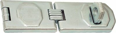 ABUS 110/155 C 6-1/4-Inch Hardened Steel Concealed Hinge Pin Hasp Silver