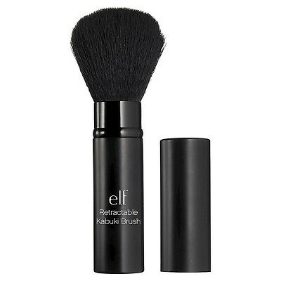 e.l.f. ELF Retractable Kabuki Makeup Brush Make Up Cosmetic Accessory Black NEW