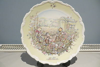 Royal Doulton Wind In The Willows Collection Plate 'the Open Road''