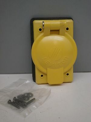 Leviton 7420-CR Corrosion Resistant Weather Cover for 20/30A Locking Recepacle