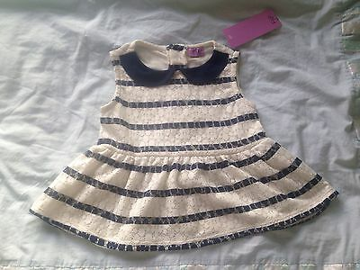 Pretty Lace Design Girls Top 1.5 - 2 Years BNWT