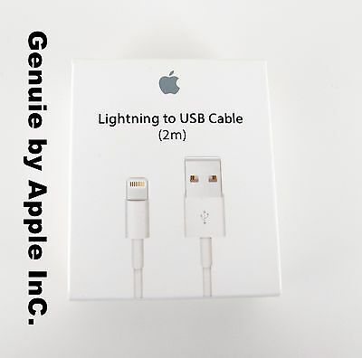 100% Genuine Original Product By Apple iPhone iPad iPod Usb Cable Sync Charger