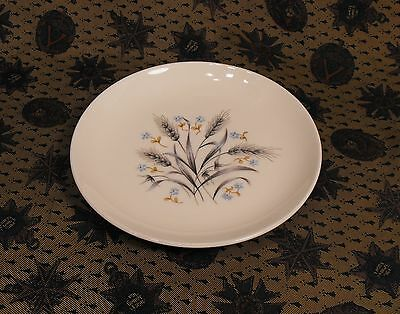 Vintage Silver Wheat Pattern  White  Saucer  Made In Japan
