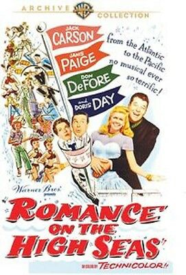 ROMANCE ON THE HIGH SEAS (Doris Day) (DVD) UK compatible sealed