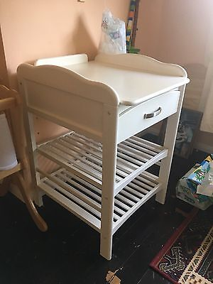White John Lewis Changing Table