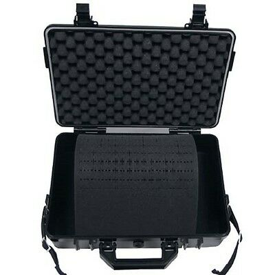 Box Plastic waterproof 39 x 29 x 12 cm black Tool Case Box MFH