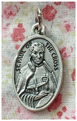 St Paul Of The Cross Relic Religious Medal