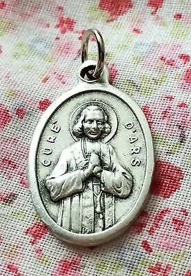 Cure D'Ars Relic Religious Medal