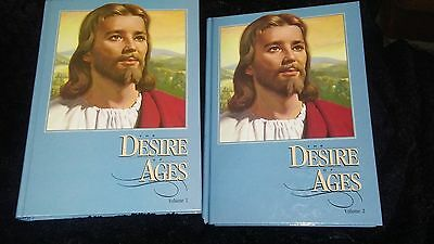 Desire of the Ages by E.G. White, Volume 1 & 2