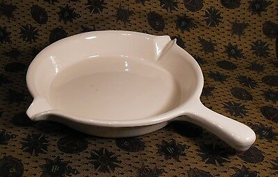 California Pottery  Usa Micro Magic Ec-245 Ovenproof Skillet Double Pour Spouts