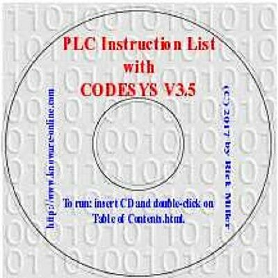 PLC Instruction List with CODESYS V3.5 (Simulation PLC, HMI, Visualization)