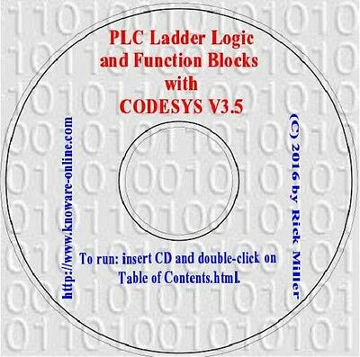 PLC Programming Ladder Logic and Function Blocks with CODESYS V3.5 (plus HMI)