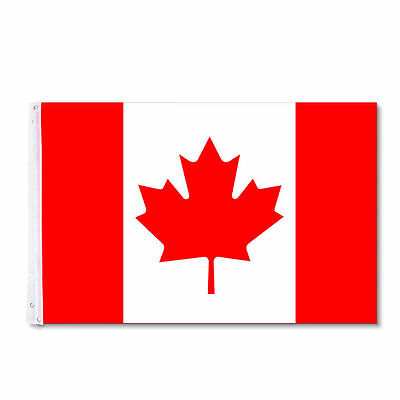 LIEOMO High Quality Canadian Flag Large 3 x 5 Foot
