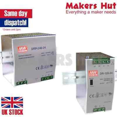 DIN Rail Power Supply - 12V 24V 48V- 60W 240W