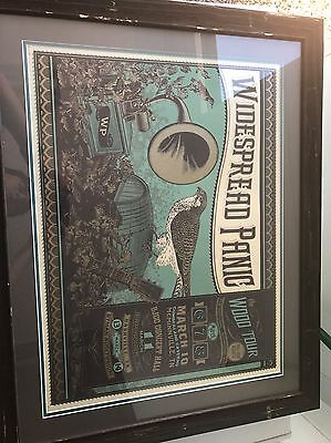 Widespread Panic Wood Tour Poster