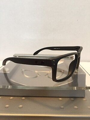 ++Oakley Holbrook Steel Gray Frame Black Icons Fast Free S/H++