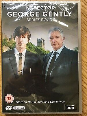 George Gently - Series 4 - Complete (DVD, 2012, 2-Disc Set) NEW / SEALED