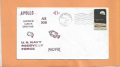 Apollo 11 As506 Pacific Recovery Force Jul 24,1969 U.s.s. Hornet
