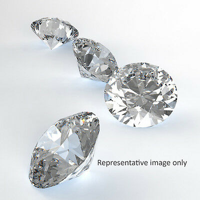 0.50 carat diamond. F/G SI2+ triple excellent. GIA certified & laser inscribed
