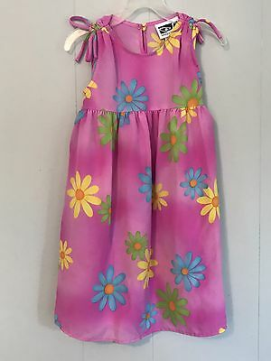 SPEECHLESS  Toddler/Girls   Sleeveless Pink Floral Casual Dress Size 5
