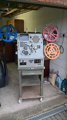 vintage industrial film 16 mm editing machine  interior design item