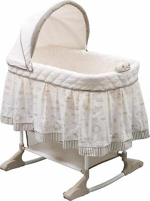 Delta Children Rocking Bassinet Play Time Jungle NEW