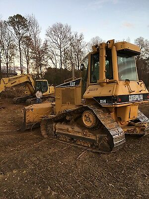 cat caterpillar D5N hi track dozer dozier w/ cab & COLD A/C very strong