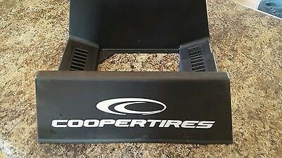 Cooper Tires Tire Stand Plastic Display Rack Advertising Sign Holder Htf