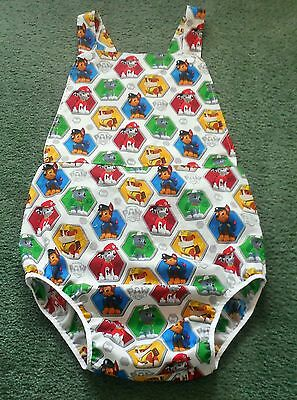 """Adult baby SUMMER SUNSUIT PAW PATROL 48"""" hips"""