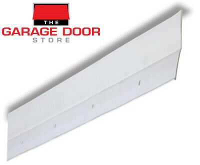 Garage Door Weather Seal - White Reverse Angle Vinyl Jamb Seal