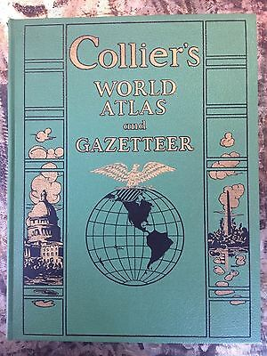 Collier's World Atlas and Gazetteer (1943 edition)