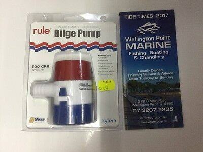 RULE Submersible Bilge Pump 500gph