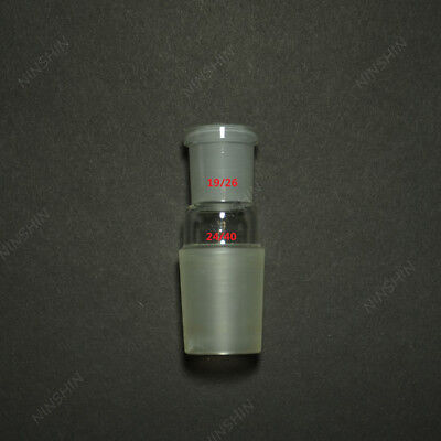 Glass Reducing Joint adapter,Male 29/32 to Female 19/26,lab Glassware Adapter