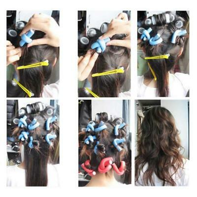 42pcs Bendy Rollers Hairdressing Soft Foam Hair Dresser Salon Curlers Twist