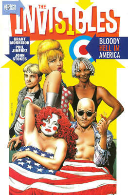 The Invisibles Volume 3 Bloody Hell In America