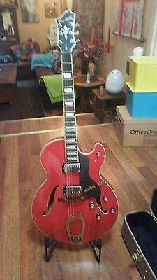 Hagstrom Viking Electric Guitar with Hard Case & Floor stand