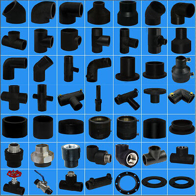 HDPE Poly Electrofusion and Butt weld fittings OVERSTOCK SALE