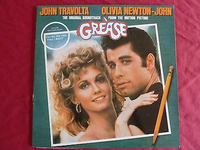 Grease [The Soundtrack from the Motion Picture] - Vinyl Record 2 LP 1978