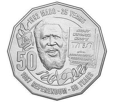 2017 50c (fifty Cent) Pride And Passion Mabo Circulating Coin UNC 1 Coin presale