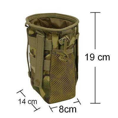 Dump Pouch Utility Bag Hunting Hiking Gun Sling Molle Belt Tactical Camouflage