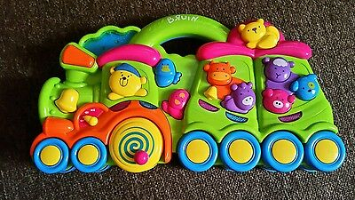 BRUIN baby learning music train / toy